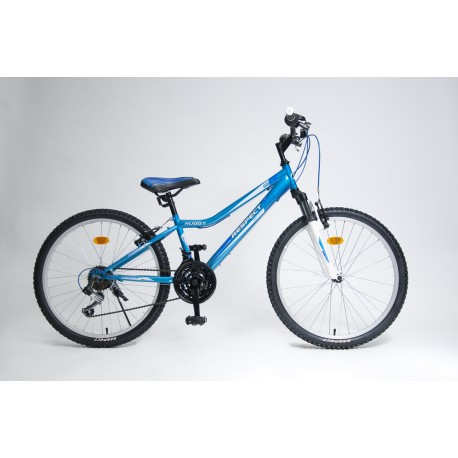 Kolo Respect Bike Huggy 24 modrá